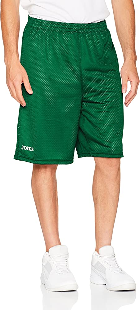 Joma - Short Basket Reversible Rookie Verde-Blanco para Hombre ...