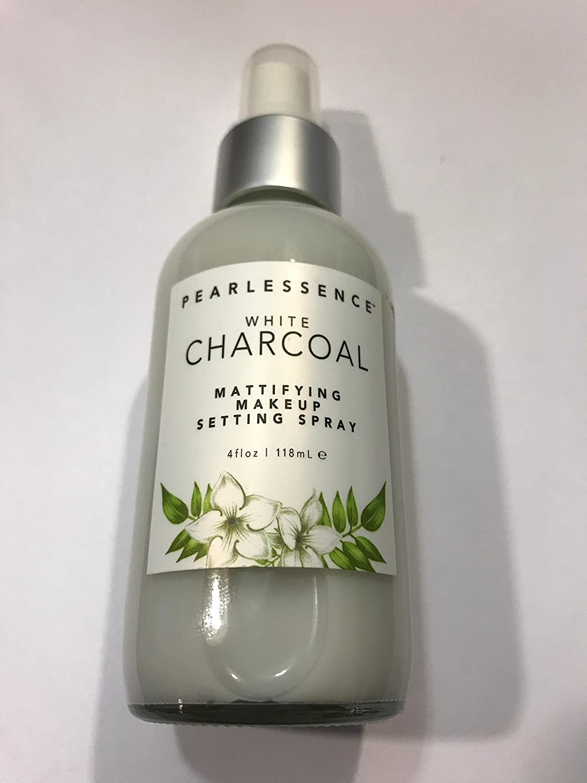Pearlessence White Charcoal Mattifying Make Up Setting Spray 4 Oz