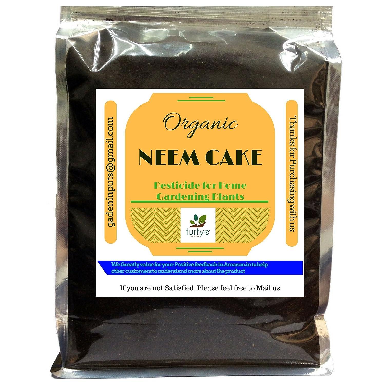 Turtye Organic Neem Cake for Home Gardening Plants (Pack of 5 Kg's)