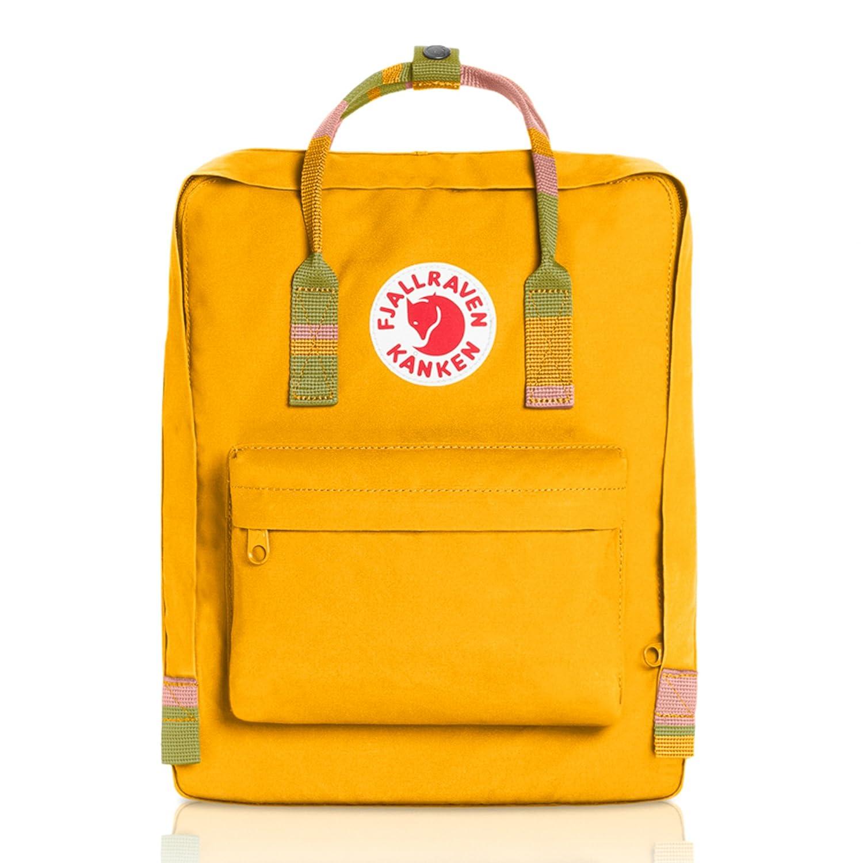 [フェールラーベン] FJALL RAVEN Kanken 23510 B01MT26EB1 Warm Yellow-Random Blocked Warm Yellow-Random Blocked