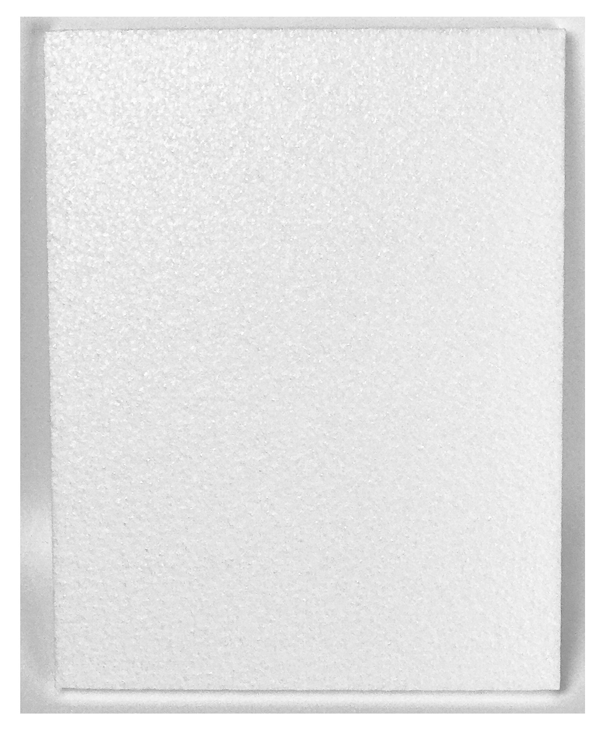 Styrofoam Sheets (8 1/2 X 11 X 1/4 inches) - White (Lot of 100) by Master451 (Image #2)