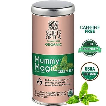 Amazon Com Mummy Magic Green Tea By Secrets Of Tea Natural