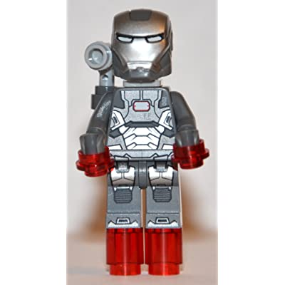 LEGO Super Heroes Iron Man 3 War Machine Minifigure with Shoulder-Mounted Gun: Everything Else