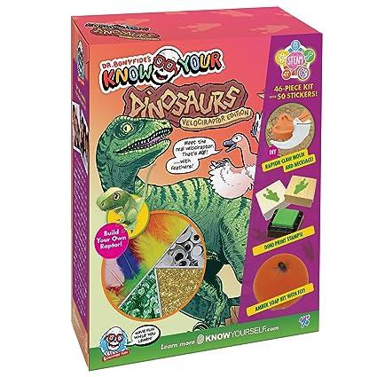 af0bdcd51ac92 Amazon.com  Dr. Bonyfide s Know Your Dinosaur  Velociraptor Edition ...