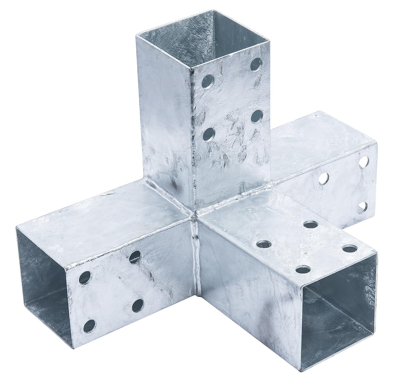 Connex hv4249305x 200mm, connecteurs, pour poteau bois 70x 70mm