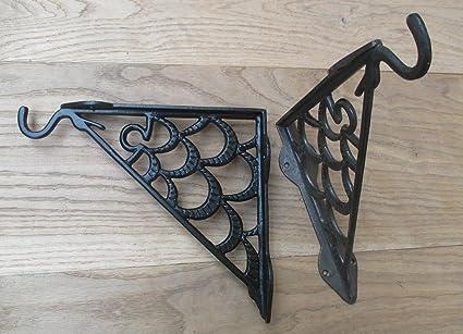 Lanterne Da Giardino Fai Da Te : Ironmongery world® 1 x ferro antico pewter lanterna cesto di fiori