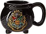 Silver Buffalo HP9895B Warner Bros Harry Potter Hogwarts Taza de cerámica esculpida 3D con diseño de caldero, 591 ml