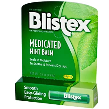 Blistex - Medicated Lip Balm Mint 15 SPF - 0.15 oz. CLEARANCE PRICED Plain Jane Beauty 232037 4.4 fl oz Micellar Eye Makeup Remover