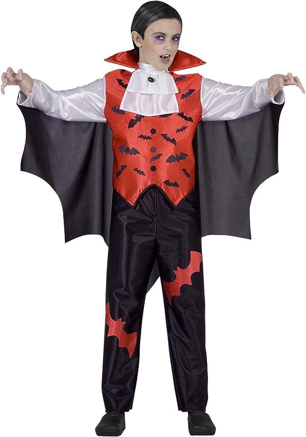 Ciao 13008 – Disfraz vampiro para niño, 7 – 10 años, rojo: Amazon ...