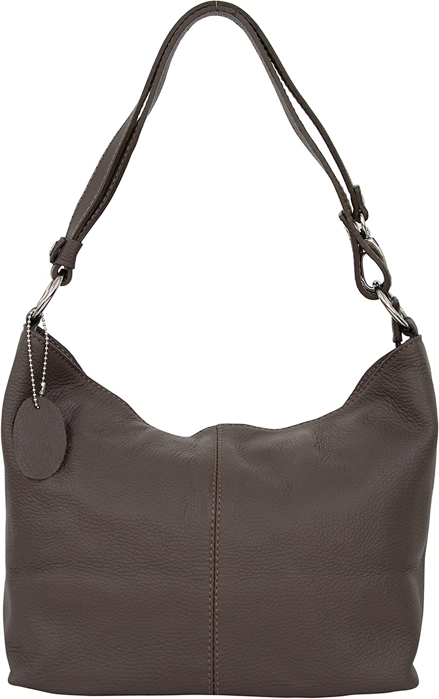 bolso de mano y bandolera AMBRA Moda Hobo bag GL005 Bolso de mujer de cuero