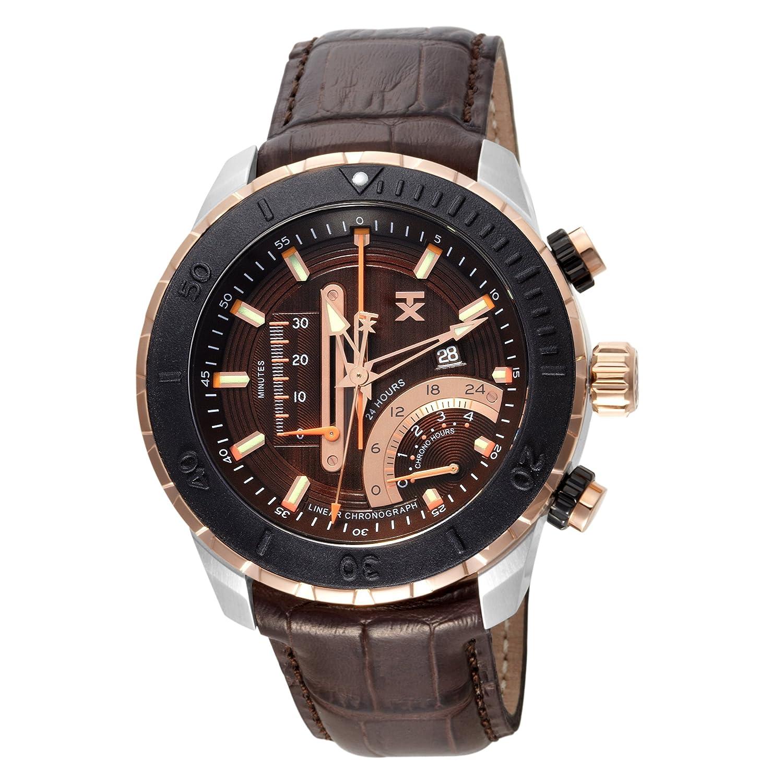 c33a9101f Amazon.com: TX Men's T3C453 Linear Chronograph Watch: Watches