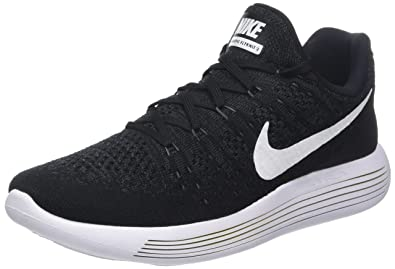 b5a77ce3da680 Nike Lunarepic Low Flyknit 2 Mens Road Running Shoes 863779-001 Size 6.5 D(