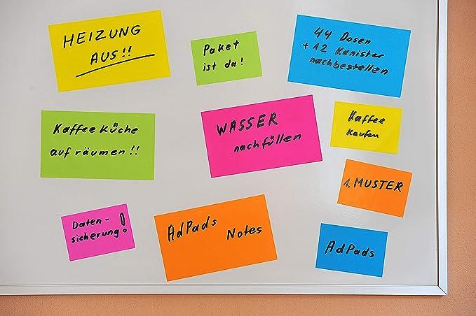 Klassenzimmer HTIANC 12 St/ück Selbstklebend Notizzettel Aufkleber Haftnotiz verschidene Tiere Klebezettel Zuhause s/ü/ß Notizpapier f/ür B/üro Pinnwand usw