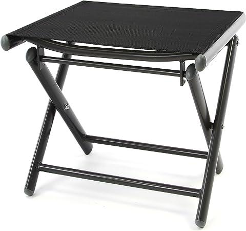 Klapphocker Faltbar Hocker Sitzhocker Klappstuhl mit Aluminiumrahmen leicht
