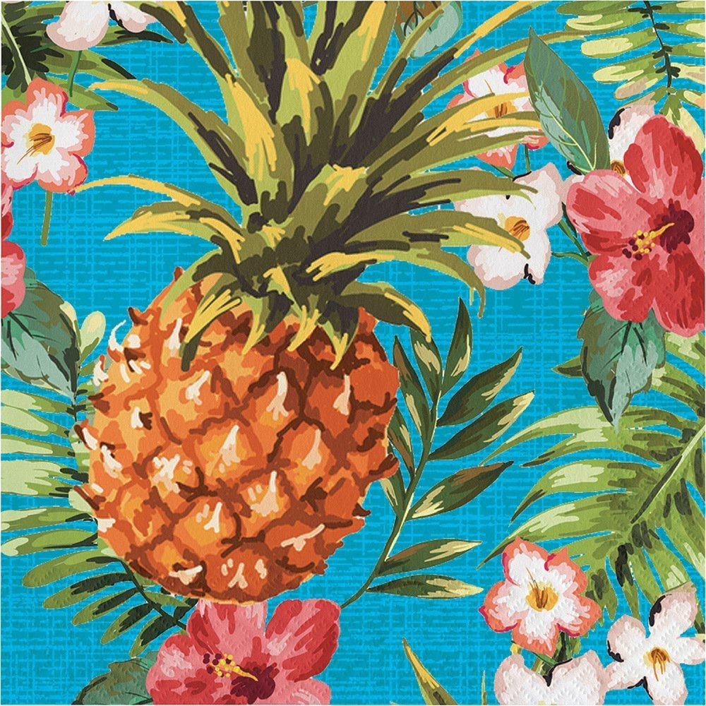 Aloha Party Bundle Dinner Napkins (54) Package by Paper Art (Image #1)
