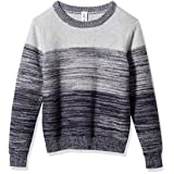 Kid Nation Boys Sweater Long Sleeve Fashion Gradient Sweatshirt for Boys Crew Neck & Color Blocked