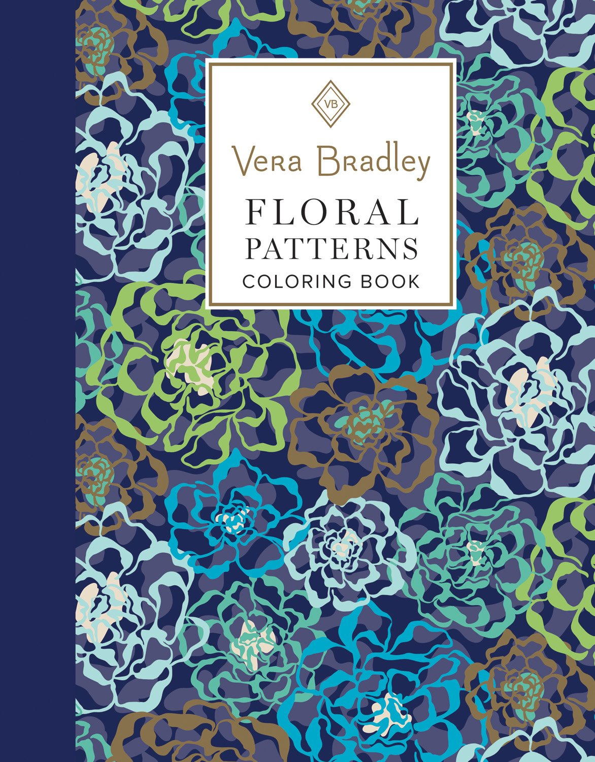 Amazon.com: Vera Bradley Floral Patterns Coloring Book (Design ...