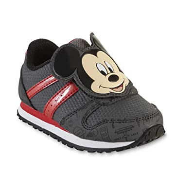 a0a8b1b9f6c2 Image Unavailable. Image not available for. Color  Disney Toddler Boys  Mickey  Sneakers Athletic ...