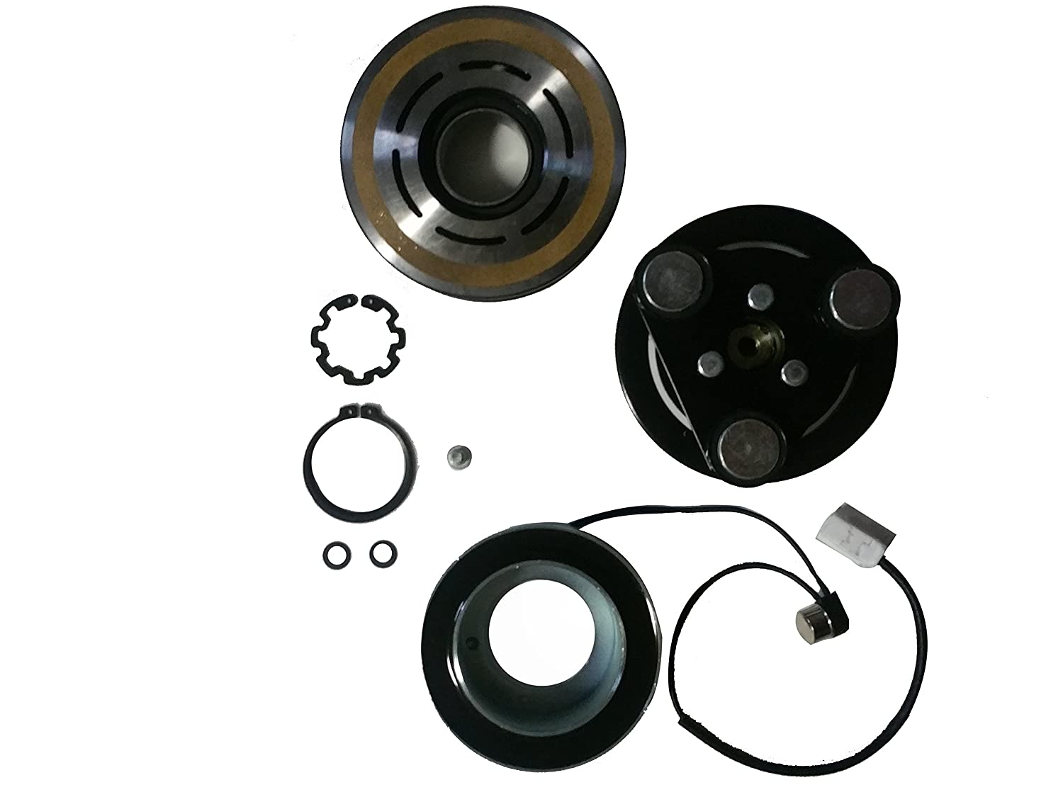 Amazon com 2004 2009 mazda 3 ac a c compressor clutch kit pulley bearing coil plate automotive