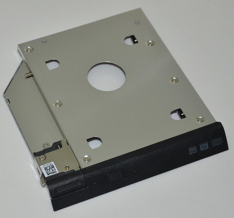 Deyoung 2nd HDD SSD Hard Drive Caddy Adapter for Dell Latitude E6320 E6420 E6520 E6330 E6430 E6530 Modular Bay with Bezel + Ejector Latch