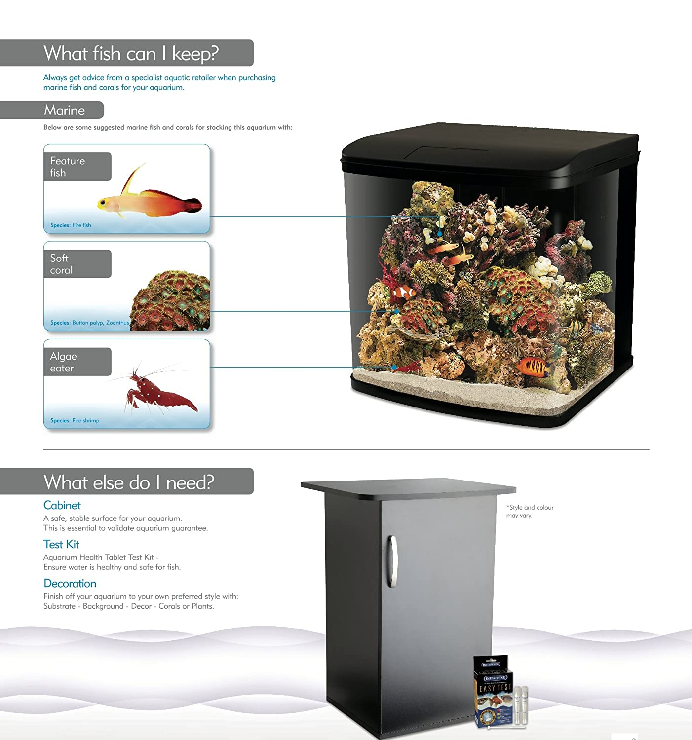 Freshwater aquarium fish bottom dwellers - Interpet Led Lighting River Reef Glass Aquarium Fish Tank 94 Litre Amazon Co Uk Pet Supplies