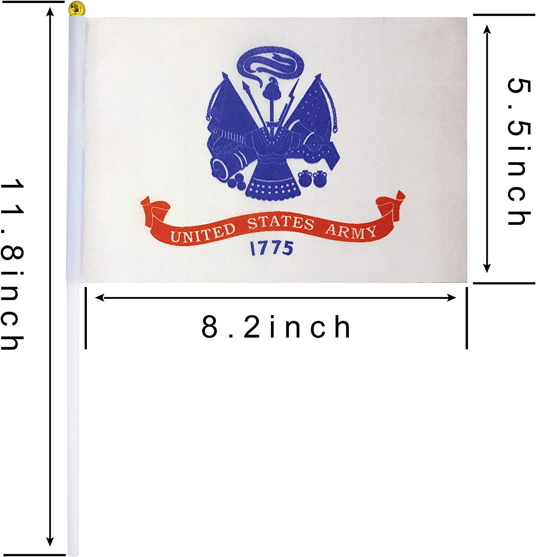 "12x18 12/""x18/"" U.S Airforce Air Force Emblem Crest Grave Marker Stick Flag"