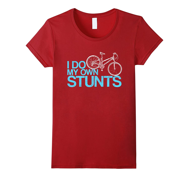 Stunts T Shirt Bicycle Style Black-Samdetee