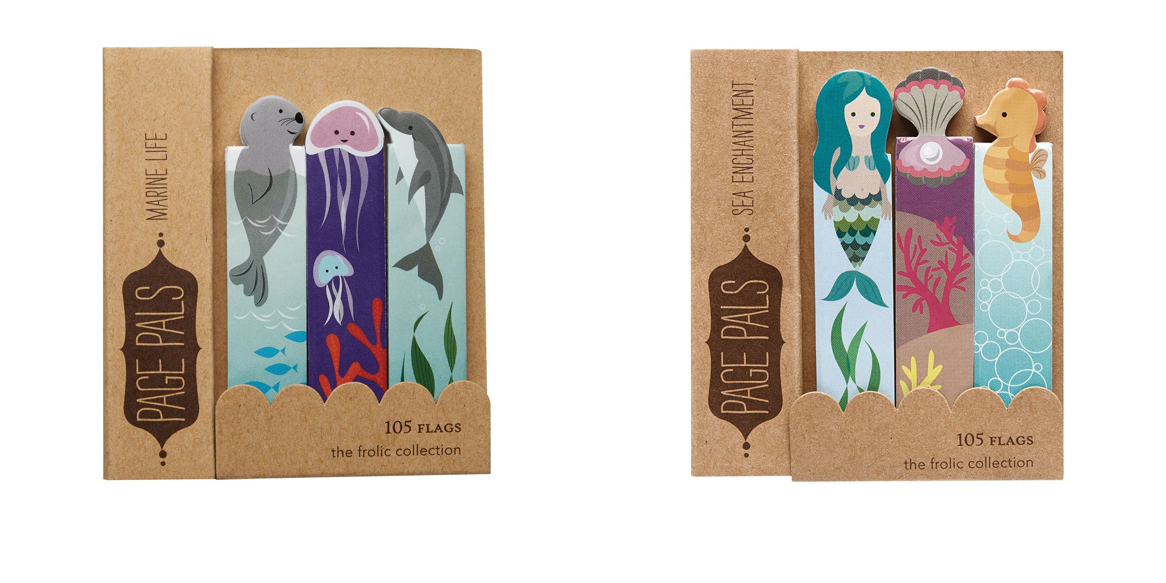 Enchanted Sea Mermaid Collection Sticky Flags Tabs Tape Flags Page Flags by Girl of All Work - Two Packs