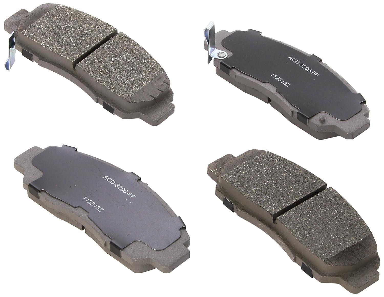 ACDelco 14D1608CH Advantage Ceramic Front Disc Brake Pad Set