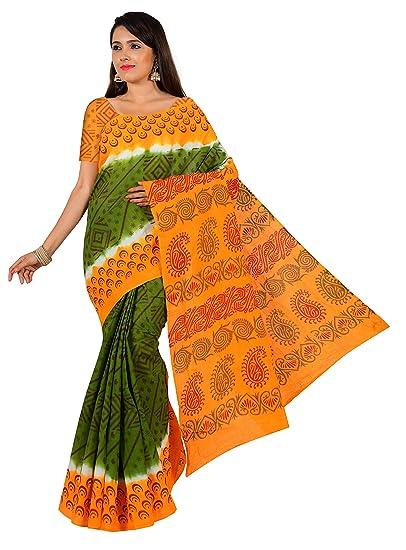 JISB Women's sungudi cotton madurai saree 5 5 mtrs without blouse