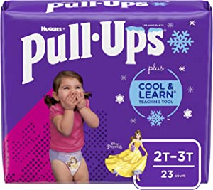 Pull-Ups Cool & Learn Girls' Training Pants, 2T-3T, 23 Ct
