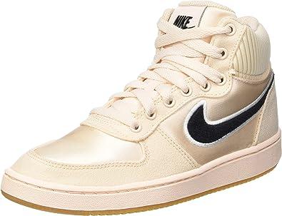 Nike WMNS Ebernon Mid Prem, Chaussures de Basketball Femme