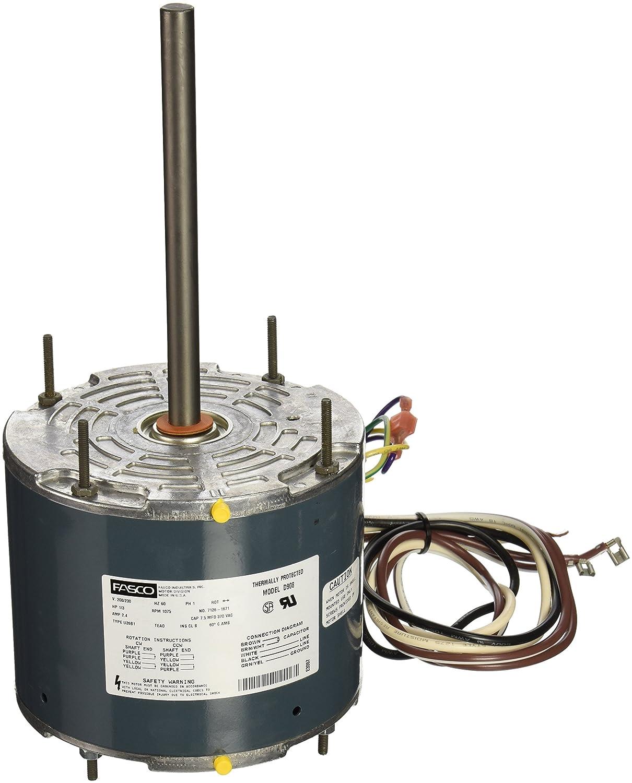 Fasco Model D7909 Wiring Diagram Wiring Diagram With