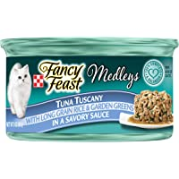 Purina Fancy Feast Medleys Tuna Tuscany Wet Cat Food, 85g