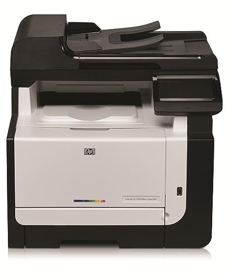 HP Laserjet PRO CM 1415 FN - Impresora multifunción láser (B/N 12 ...