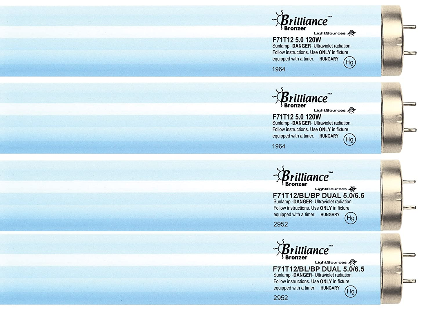 Amazon.com: Brilliance Advanced Face & Body Tanning Kit (16): Health &  Personal Care