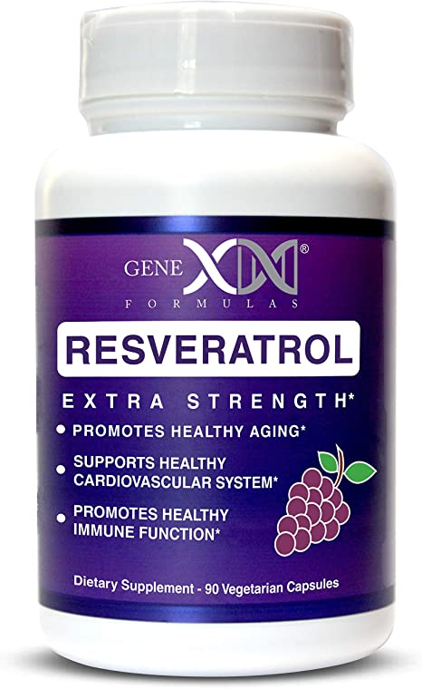 Amazon Com Genex Resveratrol 1500mg Per Serving Max Strength