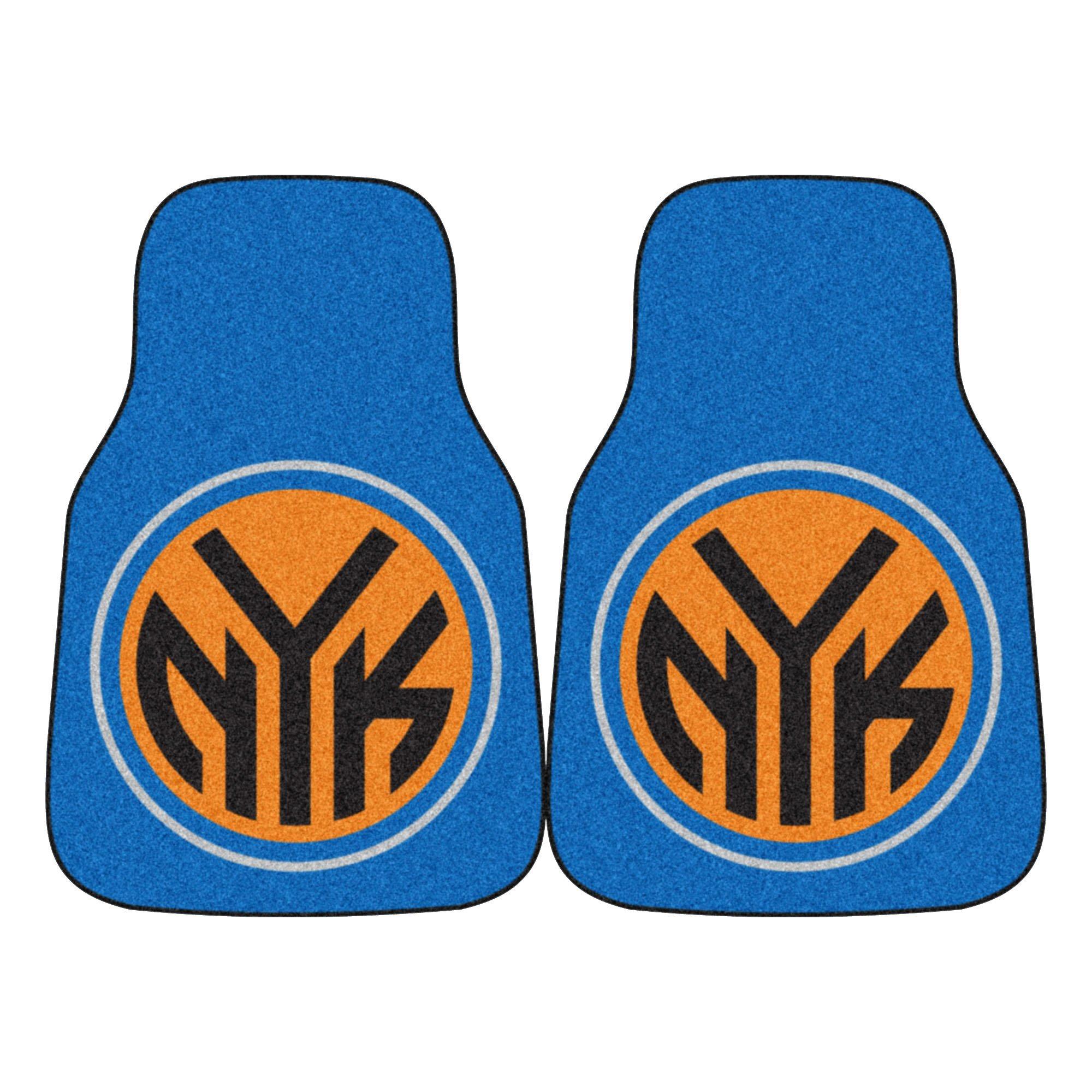 Fanmats NBA New York Knicks Nylon Face Carpet Car Mat