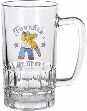 Simpsons Homer Simpson Bier Krug Glas 500 ml Bierglas