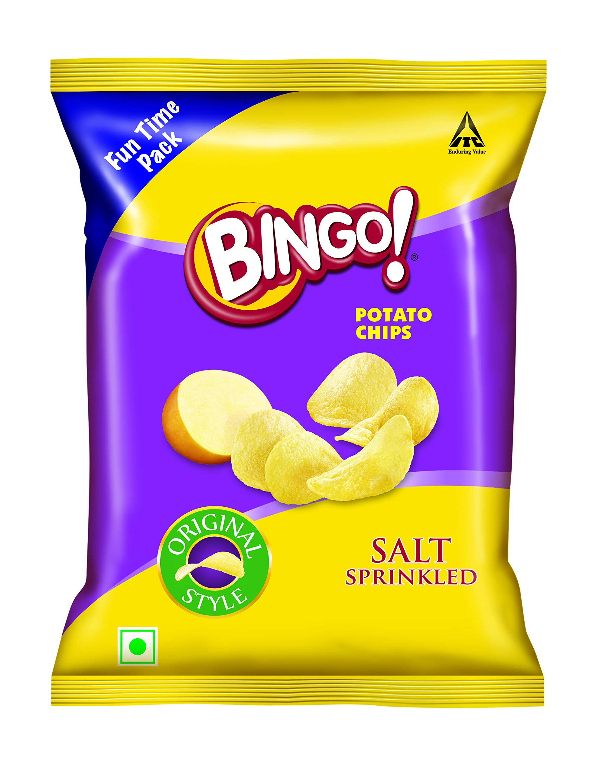 Amazon price history for Bingo Original Style Salt Sprinkled, 130 g