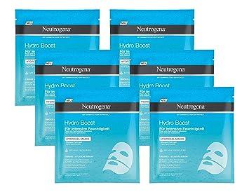 Neutrogena Hydro Boost Máscara Hidrogel - 6 Unidades x 10 gr ...