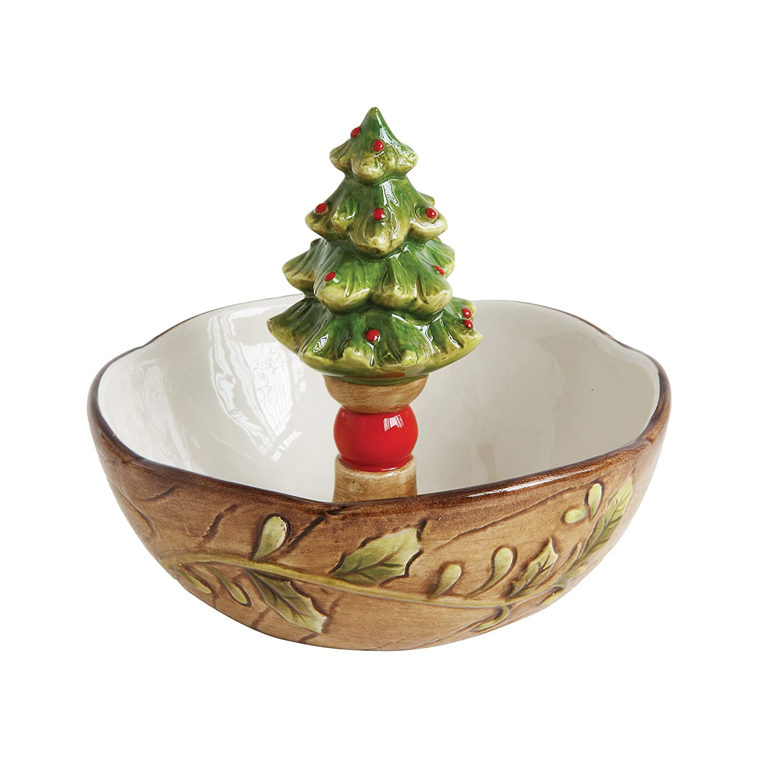 Christmas Tree Candy and Nut Bowls