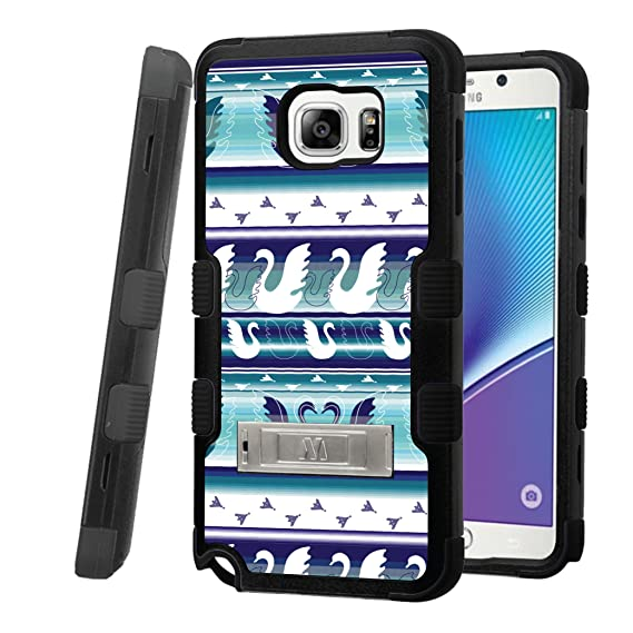 timeless design 086f9 638ac Galaxy Note 5 Case, CASECREATOR[TM] For Samsung Galaxy Note 5 / N920  (Verizon, AT&T, Sprint, T-Mobile, US Cellular) -- TUFF Hybrid Stand Rubber  Hard ...