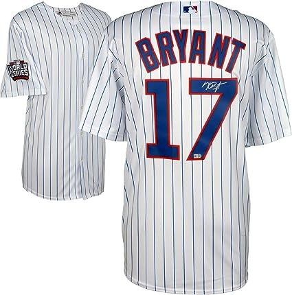 best website 79005 9c731 Kris Bryant Chicago Cubs 2016 MLB World Series Champions ...