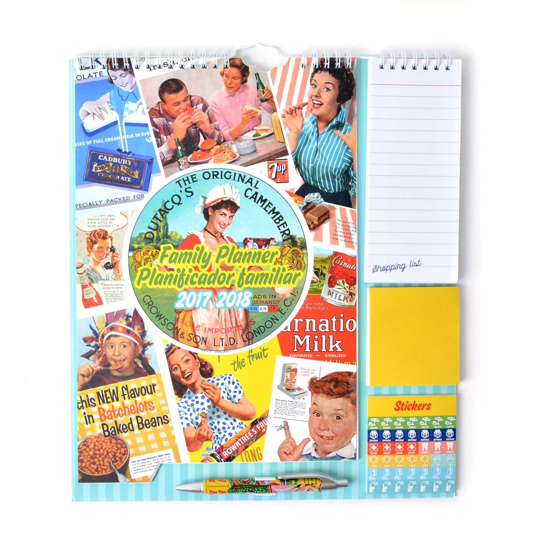 Grupo Erik Editores Planificador Familiar 2017//2018 Cocina Retro