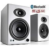 Audioengine A5+ 150W Wireless Powered Speakers- White