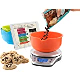 Perfect bake 1 0 smart scale and recipe app for Kitchen pro smart scale
