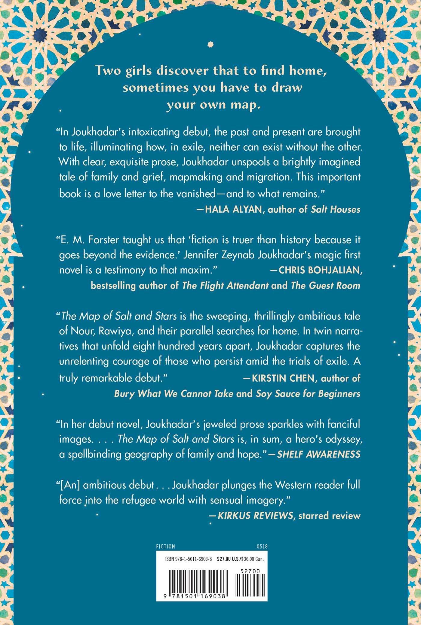 The Map Of Salt And Stars A Novel Zeyn Joukhadar 9781501169038