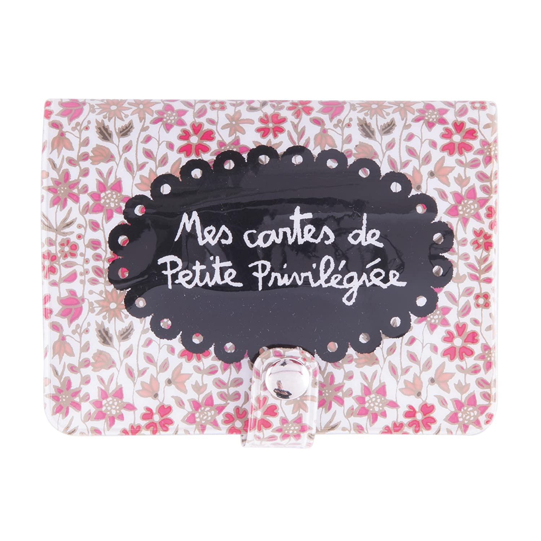 DLP Porta-tessere Folk Privil/égi/ée scritta in francese