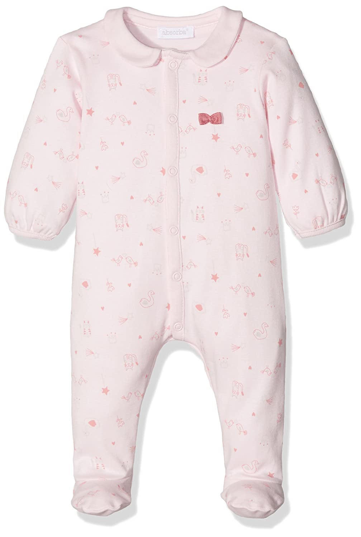 Absorba Baby Girls' Playwear Footies